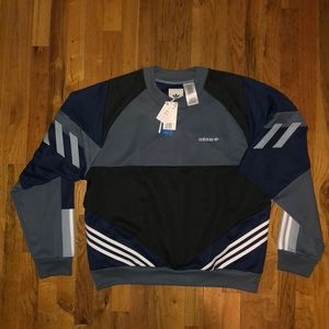 Adidas Originals Blue and White Chop Shop Shirt NWT